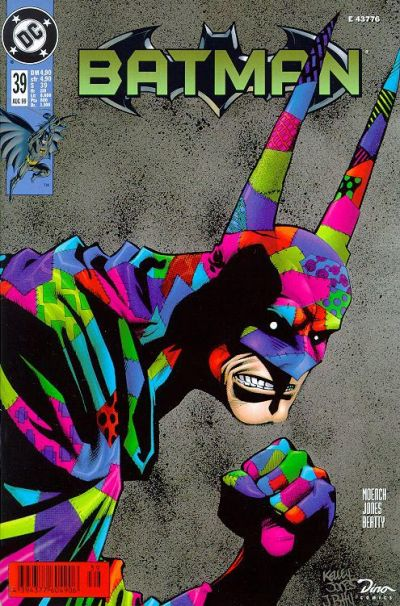 Cover for Batman (Dino Verlag, 1997 series) #39
