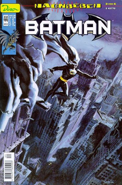 Cover for Batman (Dino Verlag, 1997 series) #44