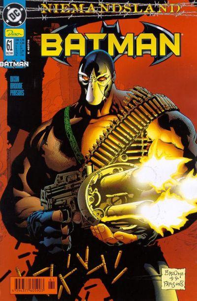 Cover for Batman (Dino Verlag, 1997 series) #61