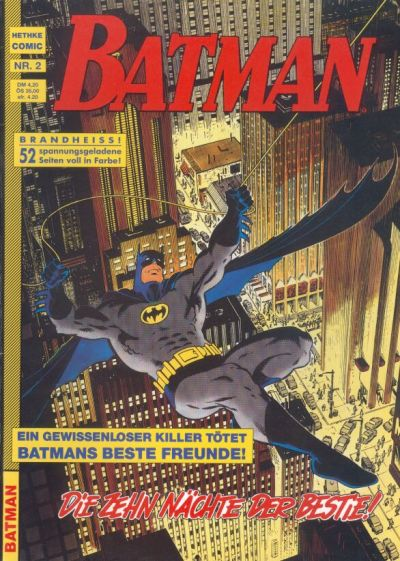 Cover for Batman (Norbert Hethke Verlag, 1989 series) #2