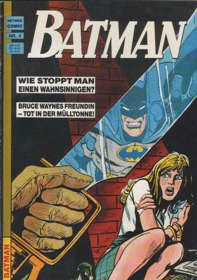 Cover for Batman (Norbert Hethke Verlag, 1989 series) #4
