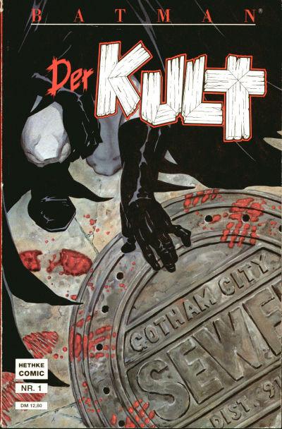 Cover for Batman Album (Norbert Hethke Verlag, 1989 series) #1 - Der Kult 1