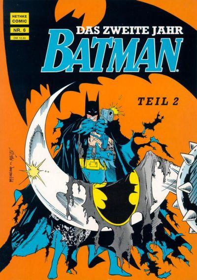 Cover for Batman Album (Norbert Hethke Verlag, 1989 series) #6 - Das zweite Jahr, Teil 2