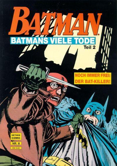 Cover for Batman Album (Norbert Hethke Verlag, 1989 series) #8 - Batmans viele Tode, Teil 2