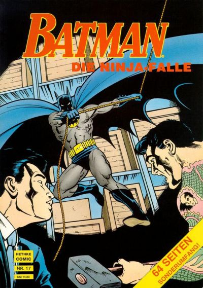 Cover for Batman Album (Norbert Hethke Verlag, 1989 series) #17 - Die Ninja-Falle