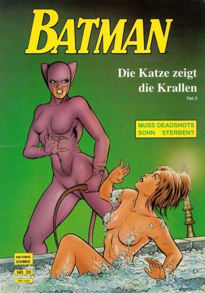 Cover for Batman Album (Norbert Hethke Verlag, 1989 series) #20 - Die Katze zeigt die Krallen, Teil 3