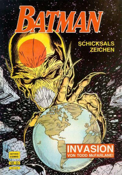 Cover for Batman Album (Norbert Hethke Verlag, 1989 series) #22 - Schicksals Zeichen