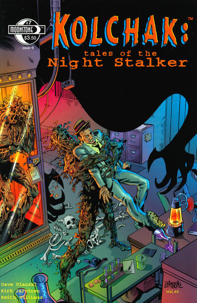 Cover for Kolchak: Tales of the Night Stalker (Moonstone, 2003 series) #7 [Cover A]