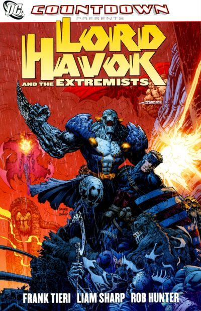Cover for Countdown Presents: Lord Havok and the Extremists (DC, 2008 series)