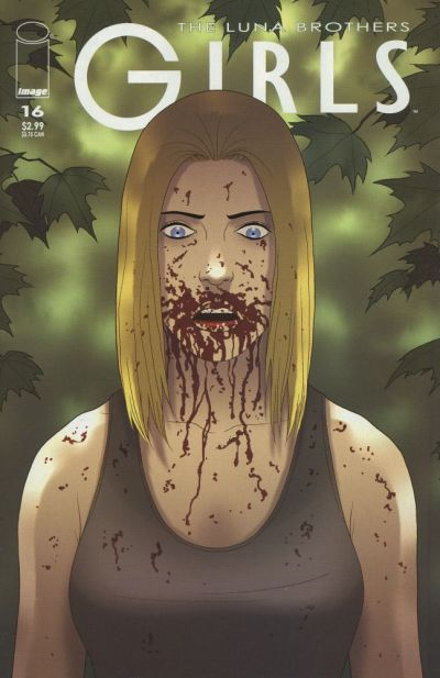 Cover for Girls (Image, 2005 series) #16