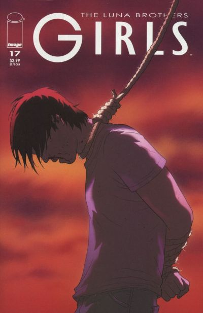 Cover for Girls (Image, 2005 series) #17