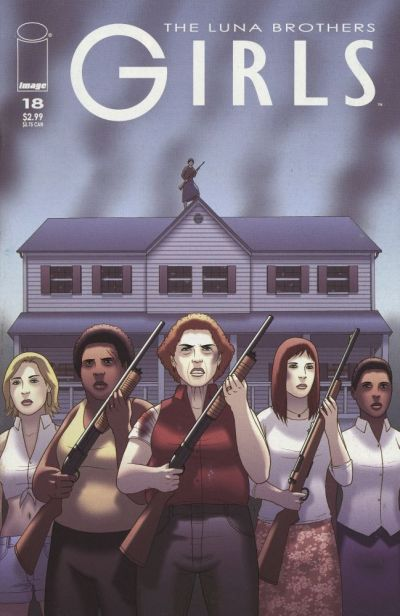 Cover for Girls (Image, 2005 series) #18
