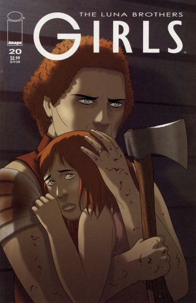 Cover for Girls (Image, 2005 series) #20