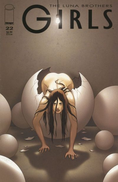Cover for Girls (Image, 2005 series) #22