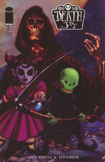 Cover for Death Jr. (Image, 2006 series) #1