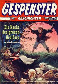 Cover Thumbnail for Gespenster Geschichten (Bastei Verlag, 1974 series) #154