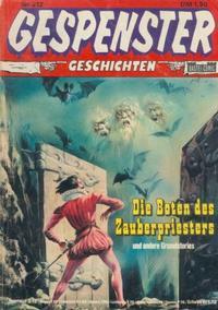 Cover Thumbnail for Gespenster Geschichten (Bastei Verlag, 1974 series) #212