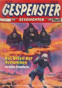 Cover Thumbnail for Gespenster Geschichten (Bastei Verlag, 1974 series) #310