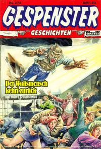 Cover Thumbnail for Gespenster Geschichten (Bastei Verlag, 1974 series) #474