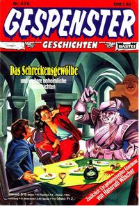 Cover Thumbnail for Gespenster Geschichten (Bastei Verlag, 1974 series) #475