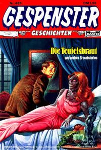 Cover Thumbnail for Gespenster Geschichten (Bastei Verlag, 1974 series) #485