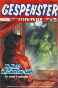 Cover Thumbnail for Gespenster Geschichten (Bastei Verlag, 1974 series) #629