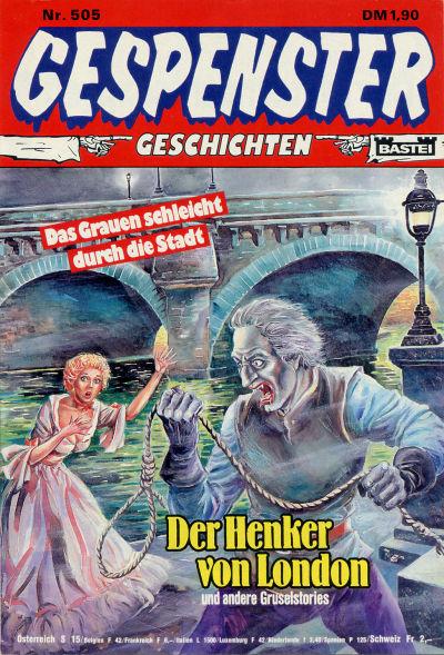 Cover for Gespenster Geschichten (Bastei Verlag, 1974 series) #505