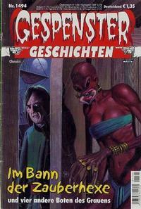 Cover Thumbnail for Gespenster Geschichten (Bastei Verlag, 1974 series) #1494