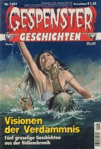 Cover Thumbnail for Gespenster Geschichten (Bastei Verlag, 1974 series) #1501