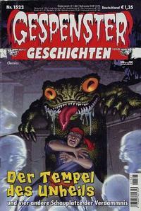 Cover Thumbnail for Gespenster Geschichten (Bastei Verlag, 1974 series) #1522