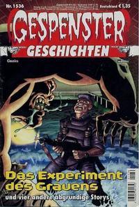 Cover Thumbnail for Gespenster Geschichten (Bastei Verlag, 1974 series) #1536
