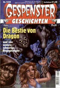 Cover Thumbnail for Gespenster Geschichten (Bastei Verlag, 1974 series) #1538