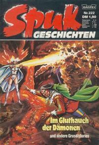 Cover Thumbnail for Spuk Geschichten (Bastei Verlag, 1978 series) #222