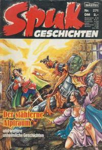 Cover Thumbnail for Spuk Geschichten (Bastei Verlag, 1978 series) #271