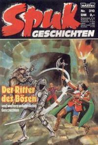 Cover Thumbnail for Spuk Geschichten (Bastei Verlag, 1978 series) #310