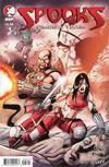 Cover for Spooks: Omega Team (Devil's Due Publishing, 2008 series) #1