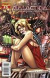 Cover for Battlestar Galactica: Season Zero (Dynamite Entertainment, 2007 series) #6 [Adriano Batista Cover]