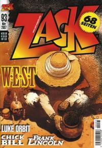 Cover Thumbnail for Zack (Mosaik Steinchen für Steinchen Verlag, 1999 series) #93
