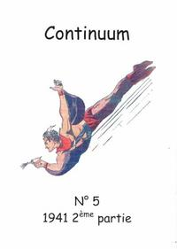 Cover for Continuum (JMF, 2007 series) #5