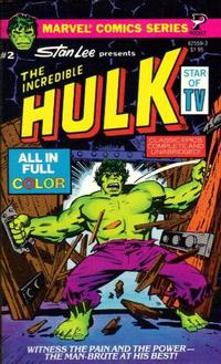 Cover Thumbnail for The Incredible Hulk (Pocket Books, 1978 series) #2 (82559-3)