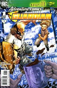 Cover Thumbnail for Adventure Comics Special Featuring the Guardian (DC, 2009 series) #1 [Direct]