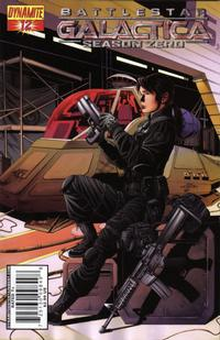 Cover Thumbnail for Battlestar Galactica: Season Zero (Dynamite Entertainment, 2007 series) #12