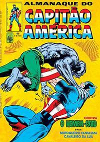 Cover Thumbnail for Almanaque do Capitão América (Editora Abril, 1981 series) #69