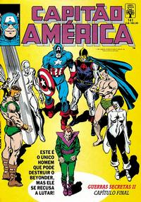 Cover Thumbnail for Capitão América (Editora Abril, 1979 series) #141