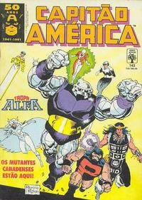 Cover Thumbnail for Capitão América (Editora Abril, 1979 series) #143