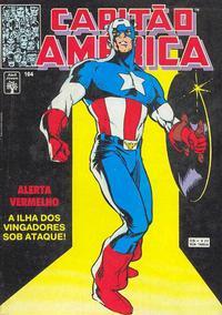 Cover Thumbnail for Capitão América (Editora Abril, 1979 series) #164