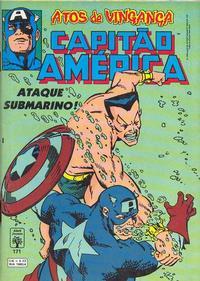 Cover Thumbnail for Capitão América (Editora Abril, 1979 series) #171