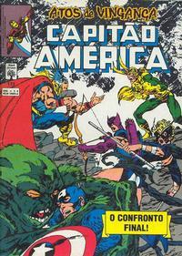 Cover Thumbnail for Capitão América (Editora Abril, 1979 series) #173
