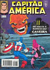 Cover Thumbnail for Capitão América (Editora Abril, 1979 series) #175