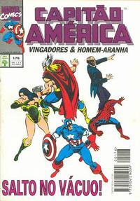 Cover Thumbnail for Capitão América (Editora Abril, 1979 series) #176
